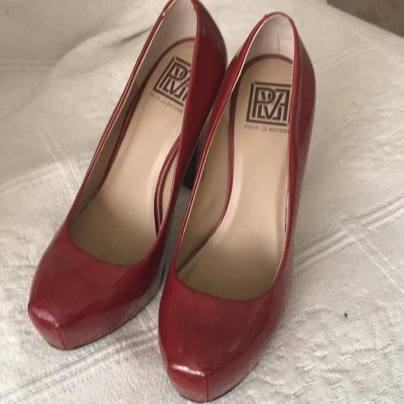06f50de801f3c Red Pour La Victoire Red Heels